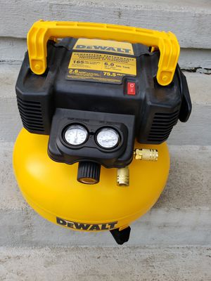 Dewalt compressor 6.0gal 165 psi for Sale in Alpharetta, GA