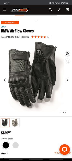 BMW Motorrad Airflow II Gloves for Sale in Santa Clara, CA
