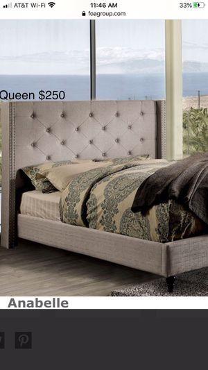 QUEEN SIZE NUEBA EN SU CAJA / no incluye colchón // QUEEN SIZE NEW IN BOX // only bed frame for Sale in Visalia, CA