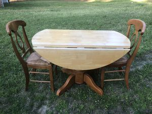 Dining table with two chairs for Sale in Knightdale, NC