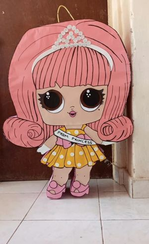 Lol doll muñecas Snow White forky Selena baby shark sirena frozen wonder woman Elmo for Sale in Chandler, AZ