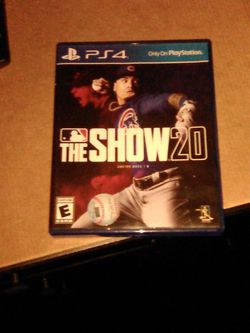 Mlb The Show 20 For Ps4 for Sale in Portland,  OR