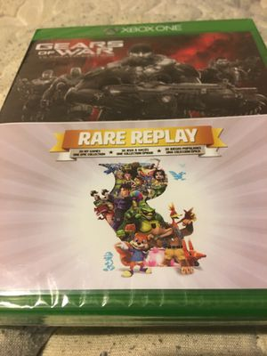 Gears of war & rare replay for Xbox one new sealed for Sale in Cincinnati, OH