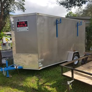 12×6×6 enclosed trailer for Sale in Tampa, FL