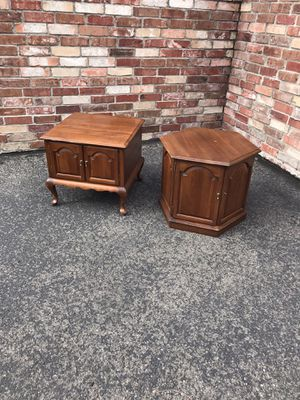 Ethan Allen end tables cherry wood for Sale in Westminster, CO
