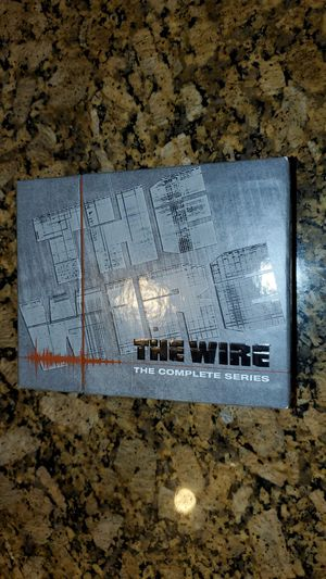 The Wire Complete Series DVD Set for Sale in Alexandria, VA