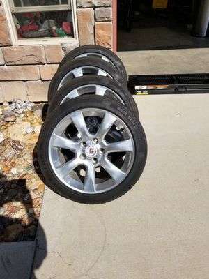 2014 Cadillac Ats stock wheels with plenty of life on the tires. for Sale in Grand Junction, CO