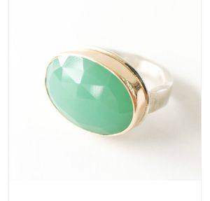 Jamie Joseph chrysoprase ring w/ 14k gold for Sale in Seattle, WA