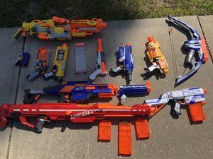 Sleep safe tonight - nerf gun assortment for Sale in Georgetown, DE