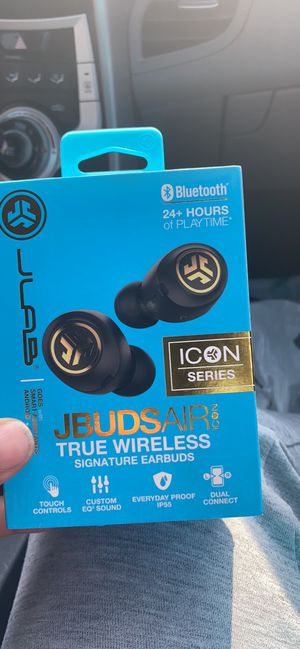 JBUDSAir icon true wireless signature earbuds for Sale in Moreno Valley, CA