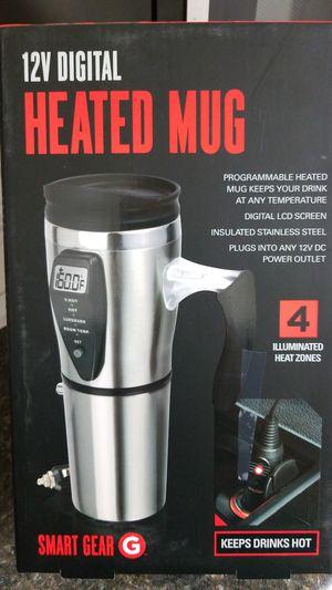 12 v heated mug for Sale in Longview, TX