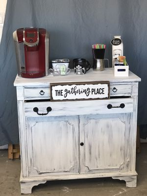 Beautiful Farmhouse Coffee Bar/Buffet Bar for Sale in Buckeye, AZ