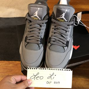 DS Jordan 4 Retro Cool Grey Size 9.5 Deadstock for Sale in Evesham Township, NJ