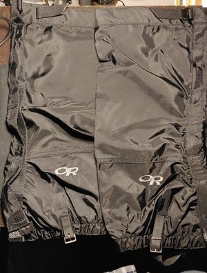 Outdoor Research XL Gators for hiking, backpacking, camping for Sale in Smithtown, NY