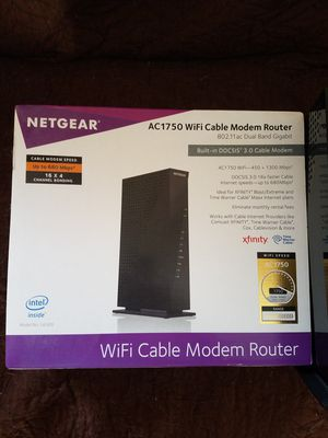 WiFi Cable modem Router combo, OBO for Sale in Chicago, IL