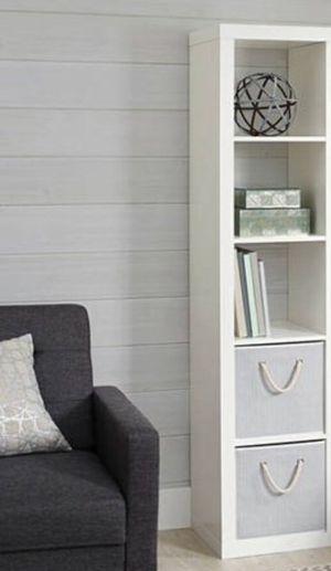 New!! 5 cube organizer, bookcase, bookshelves, organizer, living room furniture, storage unit , white for Sale in Phoenix, AZ