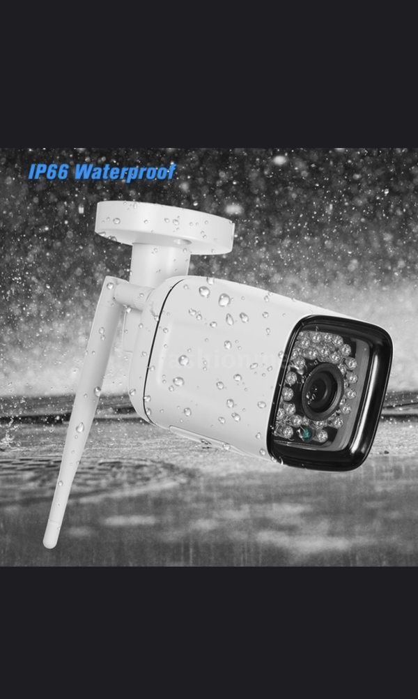1080P HD Bullet WIFI Camera Weatherproof wireless IP Camera 2.0MP 30pcs Infrared LED Lights Support phone App control motion detection night vision f