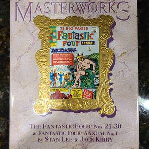 "MARVEL MASTERWORKS 72 BIG PAGES Fantastic Four ""THE UNDERSEA LEGIONS OF SUB-MARINER!"" Nos.21-30 VOL.13 for Sale in Stuart, FL"