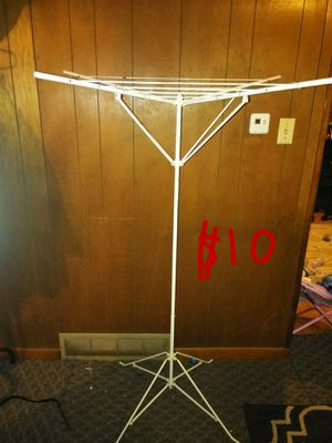 Indoor and outdoor foldable clothes line. for Sale in Middletown, PA