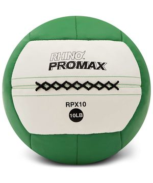 Champion Sports Rhino Promax Slam Balls, Soft Shell with Non-Slip Grip - Medicine Wall Ball for Slamming, Bouncing, Throwing - Exercise Ball Set for for Sale in Carson, CA