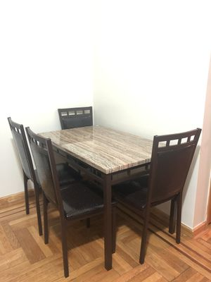 Dining table with four chairs for Sale in New York, NY