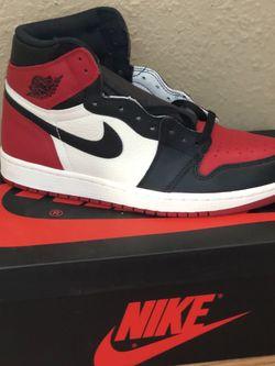 Jordan 1 Bred Toe for Sale in Dallas,  TX