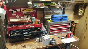 Craftsman toolboxes with tools. Take all for Sale in Severn, MD