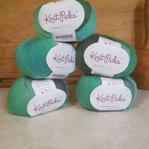 5 Knit Picks Chroma FINGERING Color ELFIE WOOL Nylon. NEW for Sale in Vancouver, WA