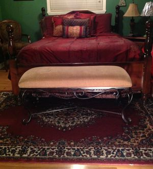 Upholstered bench for Sale in Graham, TX