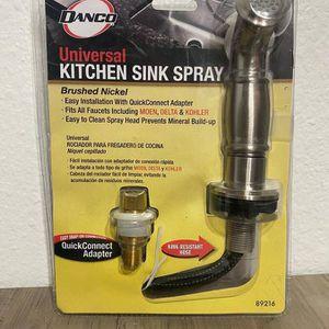 DANCO Universal Kitchen Sink Spray in Brushed Nickel for Sale in Bellevue, WA