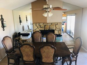 Dining Table for 6 person with Chairs all I perfect conditions for Sale in Phoenix, AZ