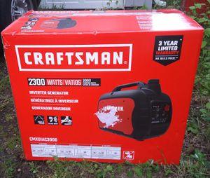 Craftsman inverter generator. 3000 watts for Sale in Portland, OR