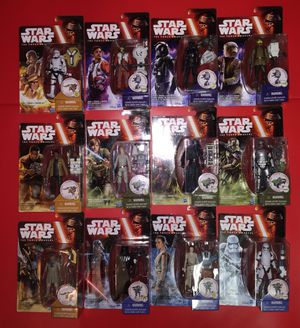 Twelve (12) Star Wars Figure Collection - 1st Wave Toys Episode 7 on 09/2015 for Sale in Riverview, FL