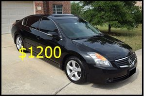 Price $1200 Great shape.2wdWheels 2008Nissan Altima SE for Sale in Richmond, VA