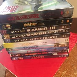 10 DVD's @ $8. for Sale in Union City,  CA
