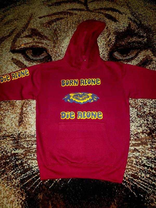 Born Alone Die Alone Custom Pullover/Hoodie
