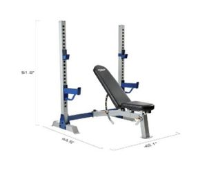 Pro Olympic Weight Bench w/ Rack [Fitness Gear] for Sale in Sunnyvale, CA