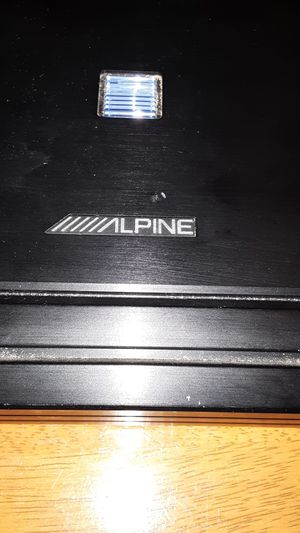 Alpine amp for Sale in Orange, TX