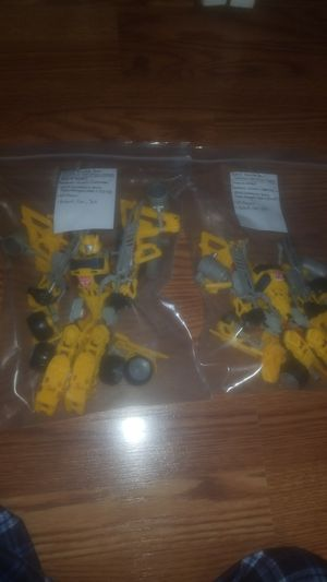 2013 bumble bee construct bots (triple changer) for Sale in Matthews, NC