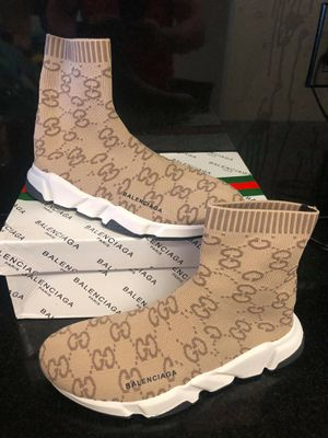New gucci balenciaga men size 8 9 10 11 for Sale in Hollywood, FL