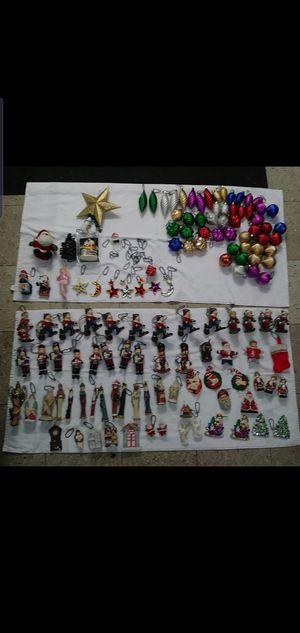 Over 140 Christmas Tree ornaments for Sale in Sterling Heights, MI