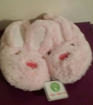 Stride Rite Kid Bunny Slippers for Sale in Detroit, MI