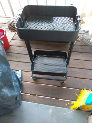 Metal storage cart 30 H 12x17 for Sale in Alexandria, VA
