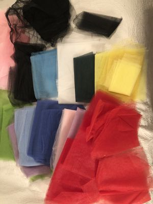 Large lot of Tulle Fabric Material! for Sale in Seattle, WA