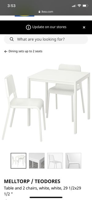 Dining table with two chairs for Sale in Emeryville, CA