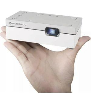Amoowa Mini Projector Portable WiFi Video Projector 200 ANSI Lumen Pocket Cinema New for Sale in Reading, PA