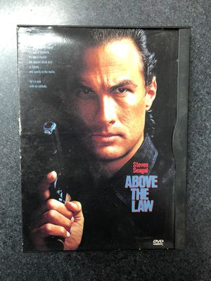 Steven Seagal Above the Law DVD for Sale in Griswold, CT