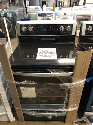 Whirlpool electric range!!! for Sale in New Lenox, IL