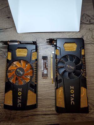 GPU 560ti Zotac (two) SLI ready for Sale in Rancho Santa Margarita, CA