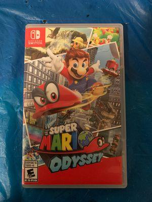 Super Mario Odyssey Nintendo Switch for Sale in Naugatuck, CT